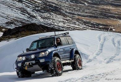 Mt. Kistufell   Super Jeep Winter Safari