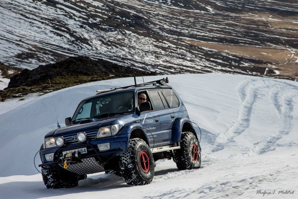 A Super Jeep is capable of bringing visitors to Iceland on an authentic winter safari through incredible snow-draped landscapes.