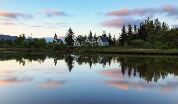 Den populära turen runt Gyllene cirkeln   Geysir, Gullfoss och Þingvellir