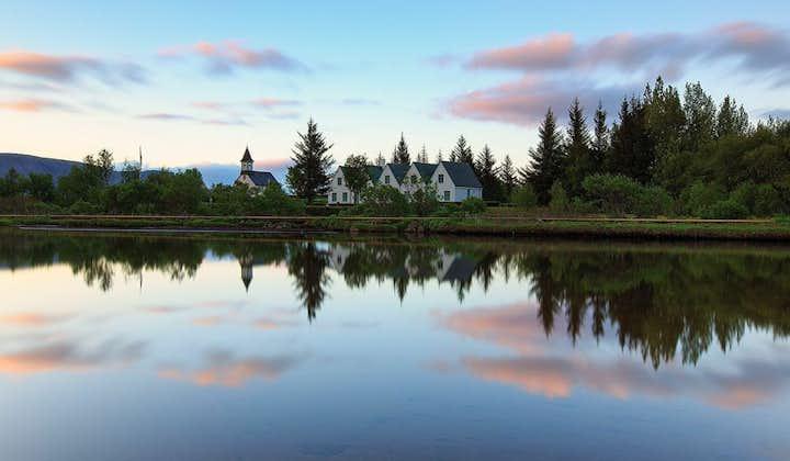 Tur rundt den populære Gylne sirkel   Geysir, Gullfoss og Tingvalla
