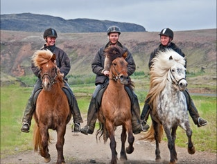 3 Hours Horse Riding Soft River Banks Tour