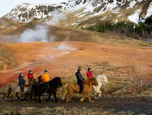 3 Hours Horse Riding & Hot Springs Tour