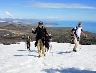 Snæfellsjokull glacier hiking tour   Demanding difficulty