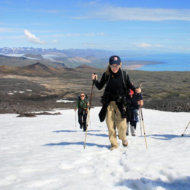 Excursion randonnée sur le glacier Snæfellsjokull - Niveau difficile