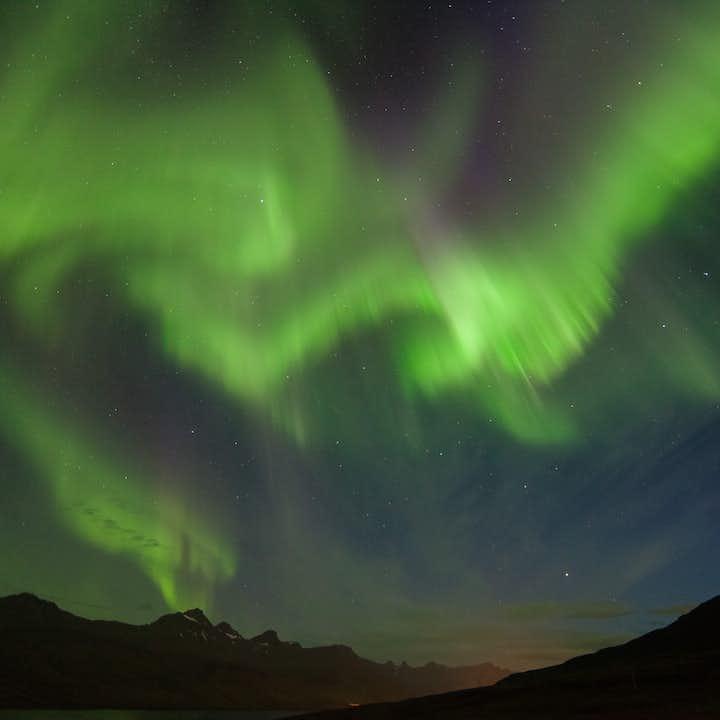 冰岛东部超级吉普北极光狩猎团 布雷兹达斯维克(Breiðdalsvík)出发