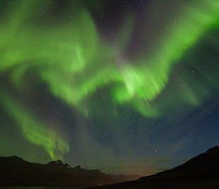 Sortie aurores boréales en Super Jeep   Islande de l'Est
