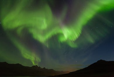 Sortie aurores boréales en Super Jeep | Islande de l'Est