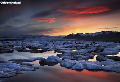 Viaje de 6 días a tu aire en coche | Círculo Dorado, Laguna Azul y la laguna glaciar de Jökulsárlón