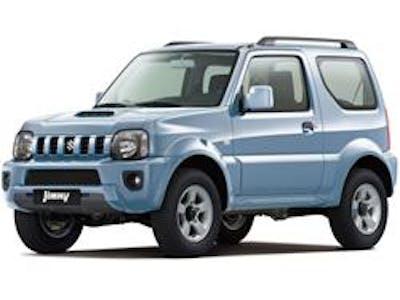 Suzuki Jimny 4x4  Manual (FREE GPS) 2015-  2016