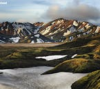 Landmannalaugar in summer is Iceland's most popular highland retreat, with stunning rhyolite mountains and soothing geothermal areas.