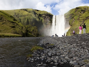 Glaciers & Waterfalls - South Iceland