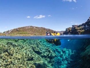 Snorkeling in Silfra & The Golden Circle