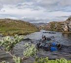 La plongée avec tuba à Silfra laissera quiconque émerveillé par la beauté naturelle de l'Islande.