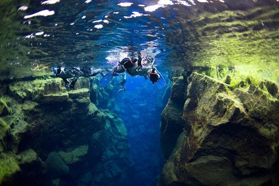冰岛大裂缝浮潜