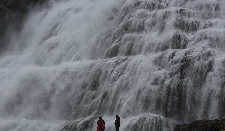 Dynjandi waterfall is one of the most impressive natural features in the Westfjords of Iceland.