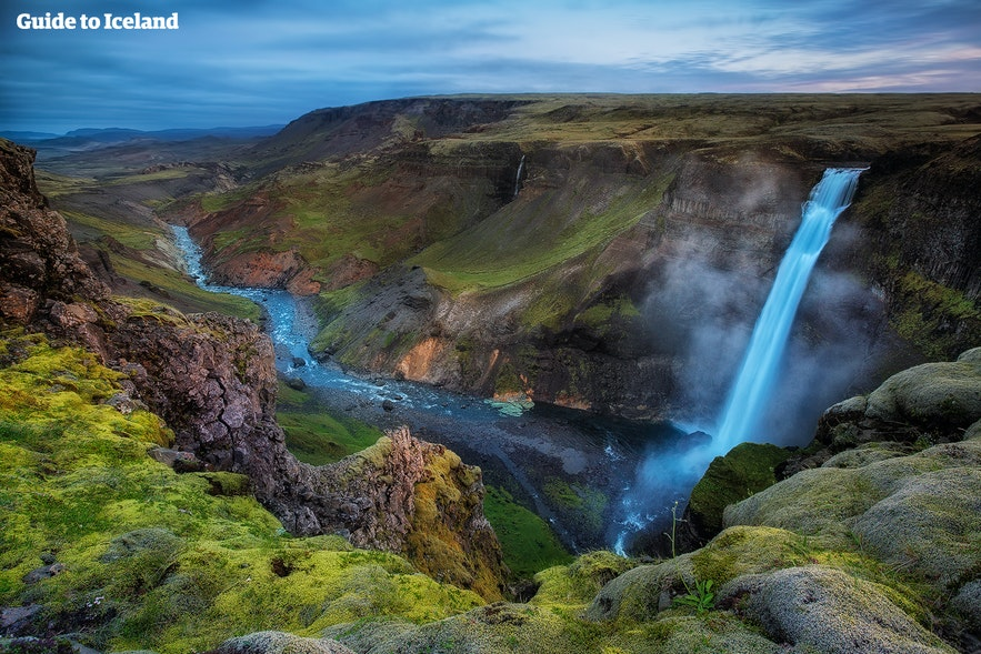 하이포스, 아이슬란드에서 두 번째 높은 폭포
