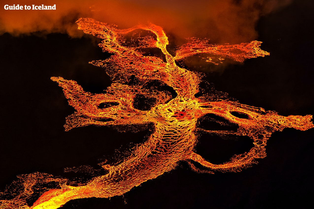 冰岛火山爆发