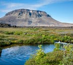 The Highlands of Iceland are not totally barren, but boast of lush green areas and deep blue lakes.