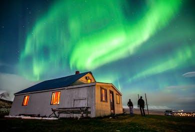 Aurores boréales depuis Akureyri