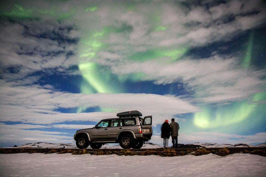 租车游玩冰岛十分方便