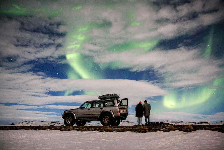 冰岛自驾是追极光的好方式