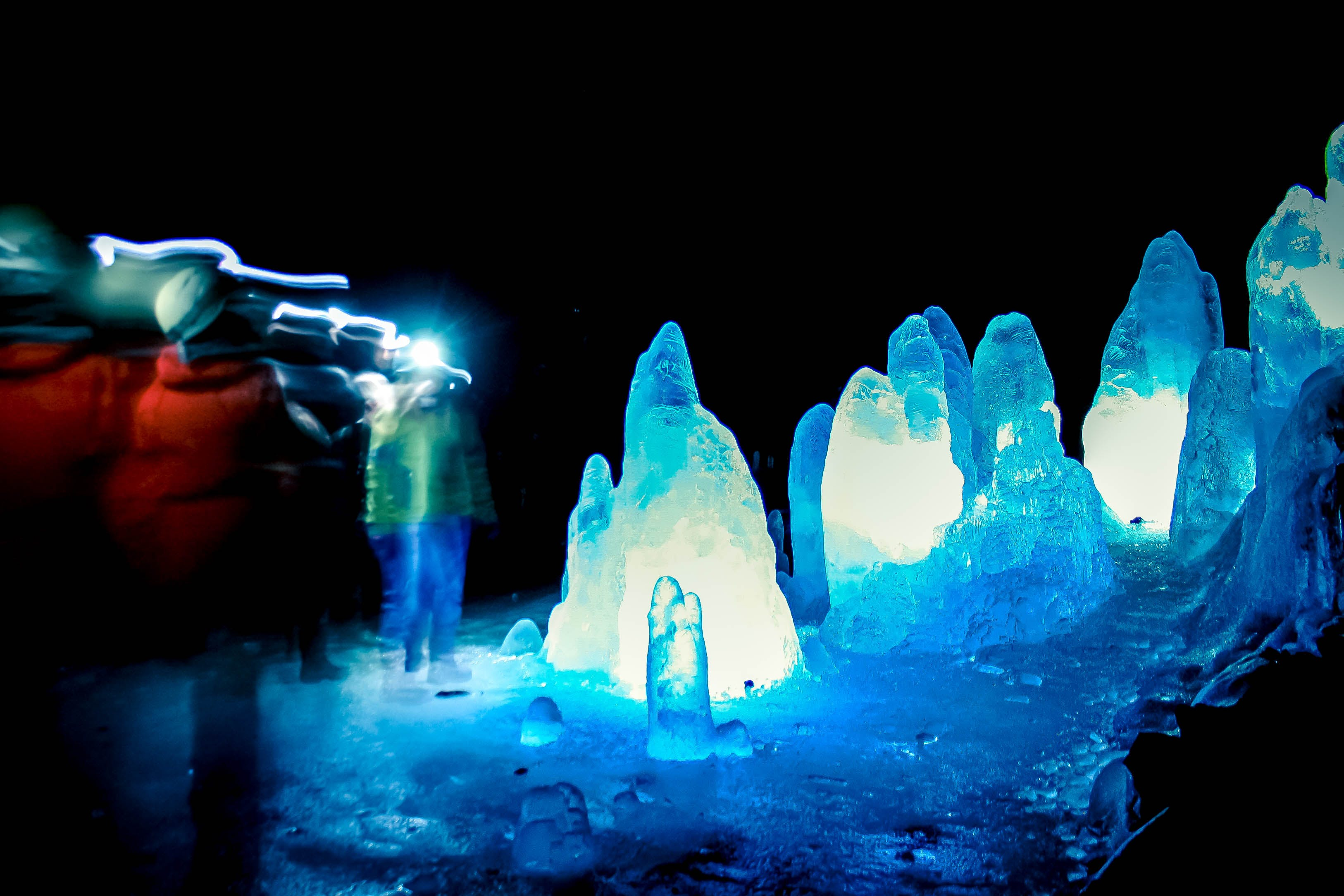 Winter Caving Tour to Lake Myvatn Ice Cave from Akureyri