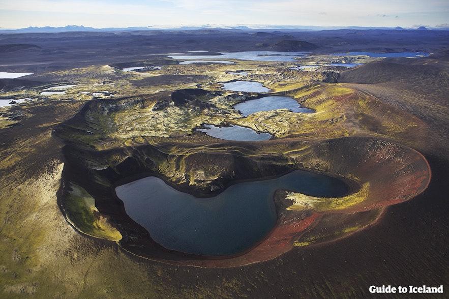 アイスランドの内陸部、ハイランド