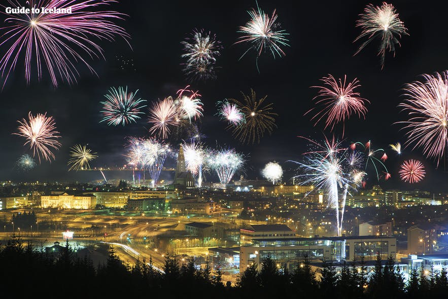 New Year's Eve in Reykjaví­k