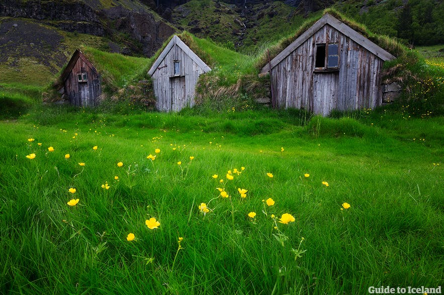 You can travel on a budget in Iceland, without needing to have to stay in one of these turfhouses!