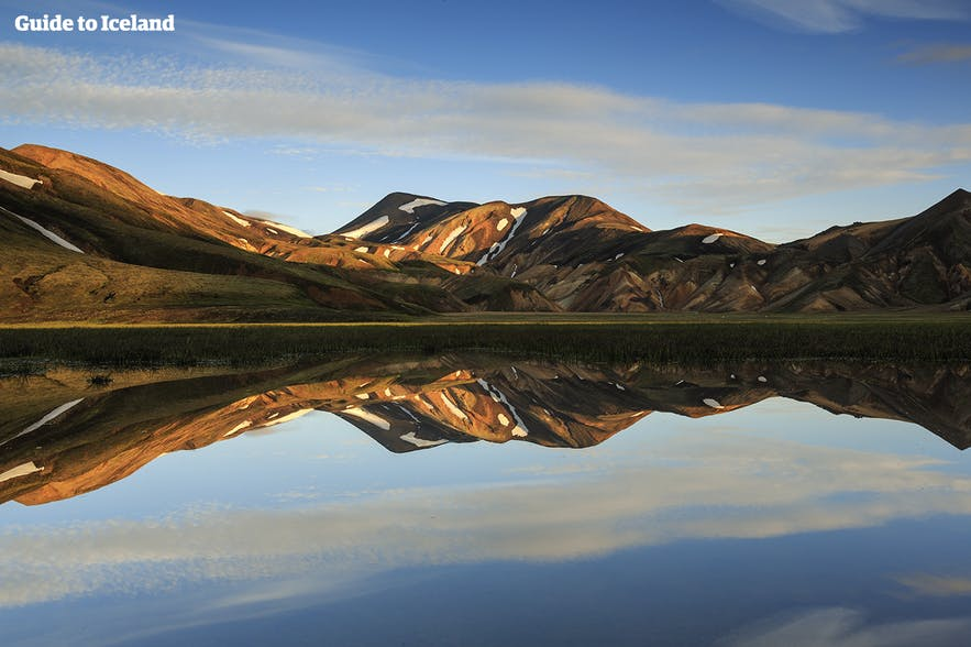 Landmannalaugar, a hiker's paradise, in the Icelandic highlands