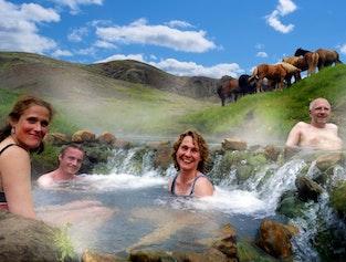 Horse Riding Reykjadalur Valley Hot Springs Daytour