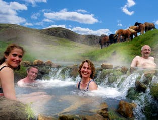 Horse Riding in Reykjadalur Valley | Hot Springs Day Tour