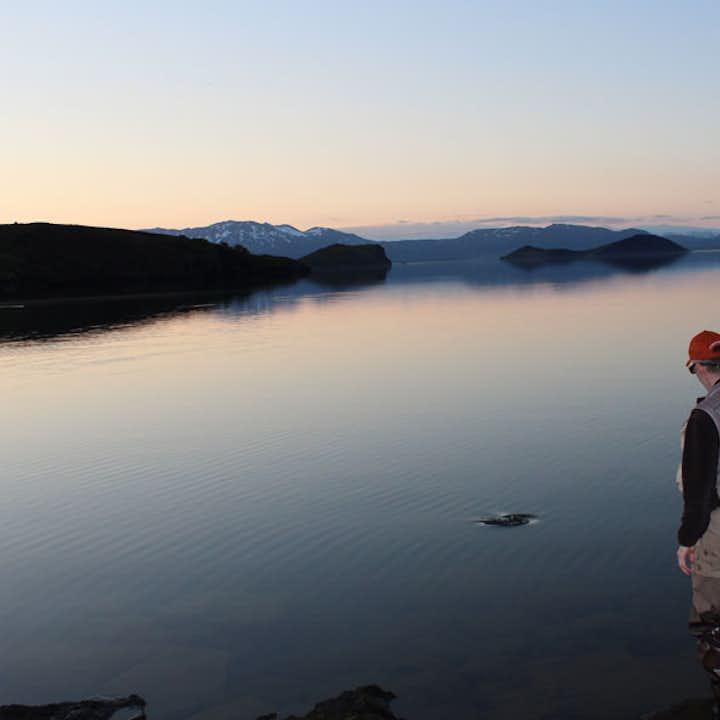 Пресноводная рыбалка   Реки и озера Исландии