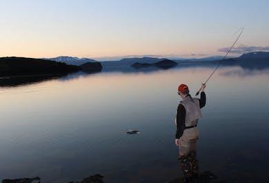 Pêche en lac et rivière en Islande   Au départ de Reykjavik