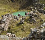 Brightly coloured crater lakes, in spite of being otherworldly, are found across much of the Icelandic Highlands.
