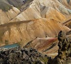 Landmannalaugar's mountains are rhyolite, meaning they contain shocking splashes of colour.