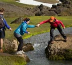 Guides will be a great help on your hike through north-east Iceland's highlands.