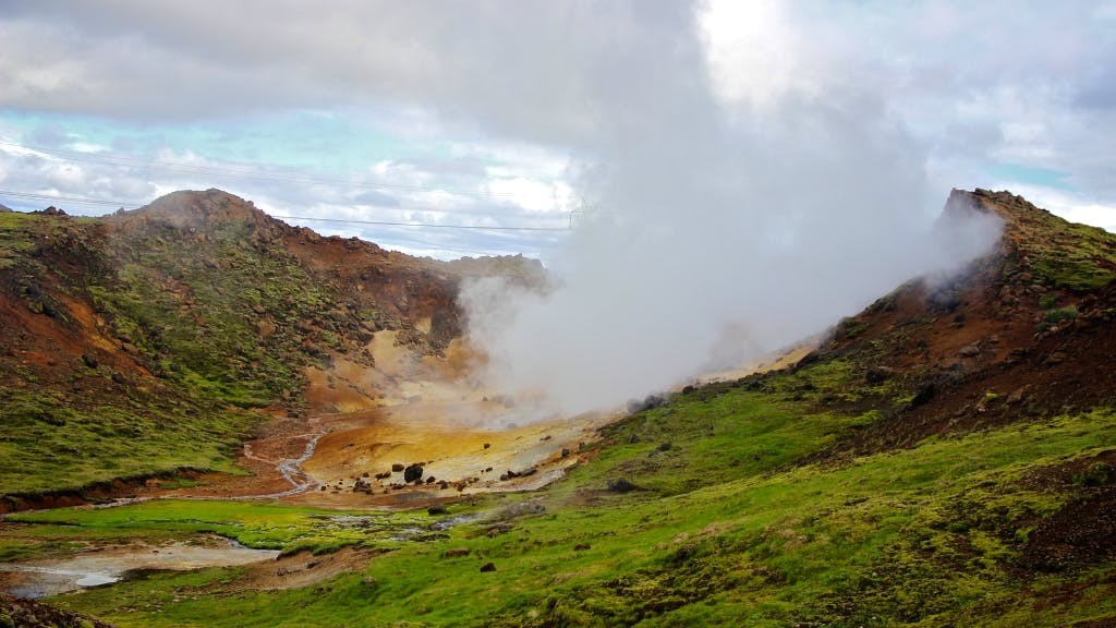 Hot Springs and Lava Cave
