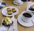 A coffee and a cake in a Reykjavík cafe is an authentic Icelandic experience.