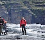 В национальном парке Ватнайёкюдль ландшафт изрезан ледником.