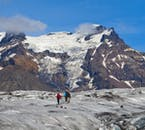 Skaftafell Nature Reserve once had National Park status in its own right.