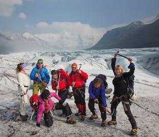 Gletscherwanderung auf dem Vatnajökull   ab Skaftafell