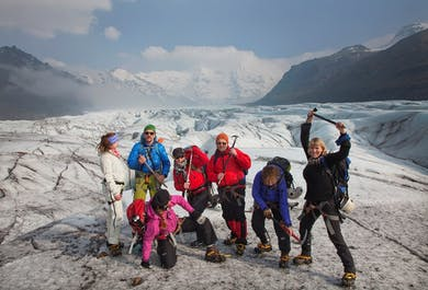 La aventura del Hielo Azul en Skaftafell   Caminata glaciar de nivel fácil