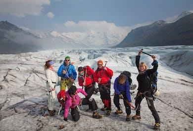 La aventura del Hielo Azul | Senderismo por glaciares en Skaftafell
