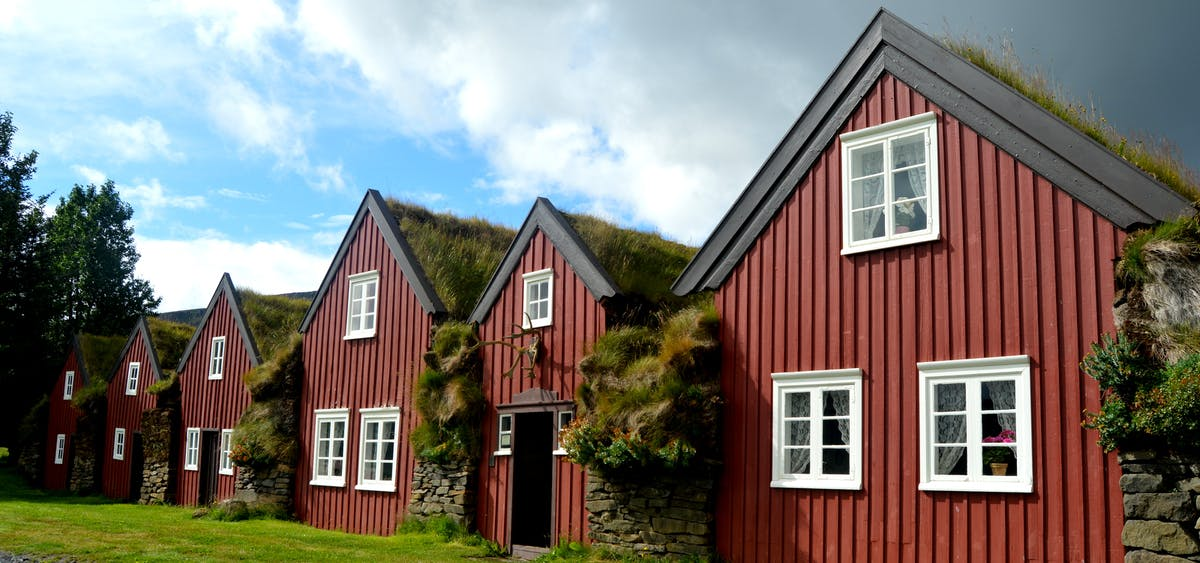 The Beautiful Bustarfell Turf House In East Iceland