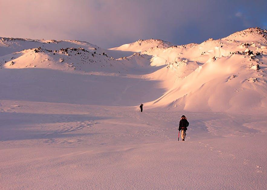 Expedition on Snæfellsjökull Glacier