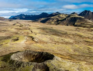 Countless Craters Helicopter Tour