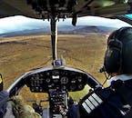 Voir les paysages de l'Islande depuis un hélicoptère est le régal d'une vie