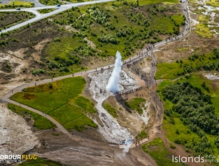Helicopter Tour | The Golden Circle & Glacier Walk