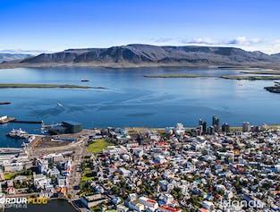 Reykjavik z lotu ptaka